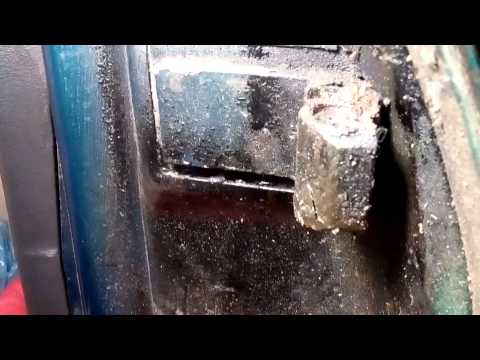 Ремонт дверних петель (люфту в дверях) Opel vectra a