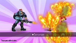 getlinkyoutube.com-Monster Legends - Terroriser (nivel 1 al 100 + combates)