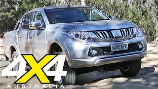getlinkyoutube.com-2016 Mitsubishi Triton Ute   Road test   4X4 Australia