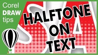 getlinkyoutube.com-Halftone on text in CorelDRAW