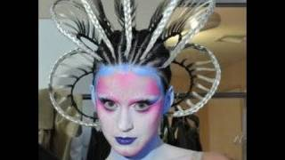 getlinkyoutube.com-Katy Perry Futuristic Lover/ E.T make up tutorial.