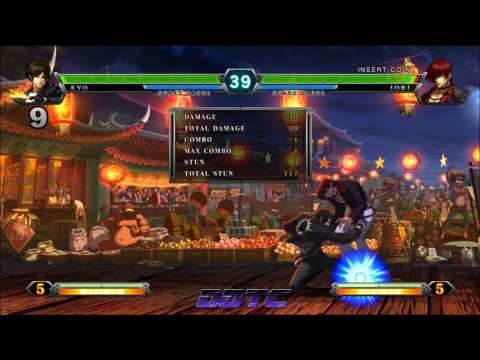 KOF XIII: Kyo combo tutorial - A closer look at Kyo