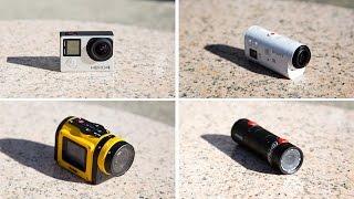 getlinkyoutube.com-GoPro Hero4 Silver vs Sony Action Cam Mini vs Replay XD Prime X vs Kodak SP1