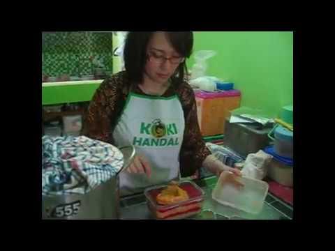 Cara Membuat Nugget Ayam Pelangi Homemade / Rumahan
