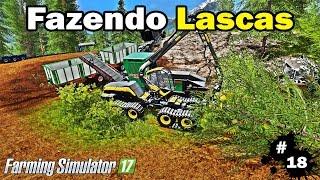getlinkyoutube.com-Farming Simulator 17 - Fazendo Lascas De Madeira