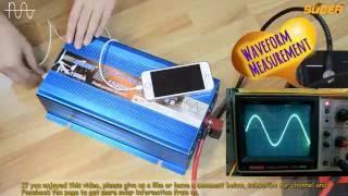 getlinkyoutube.com-Suoer Pure Sine Wave Inverter 1500W/2000W/3000W (FPC Series)