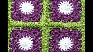 getlinkyoutube.com-Crochet : Cuadrado # 9. Uniones