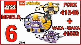 getlinkyoutube.com-LEGO MIXELS SERIES  6 MIX FORX 41546 + VAKA-WAKA 41553 - Лего Миксели 6 серия МИКС ФОРКС + ВАКА-ВАКА