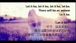 getlinkyoutube.com-辛い時に聞いて欲しい洋楽 Let it be-glee cast