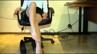 getlinkyoutube.com-Hot girl in the office 4