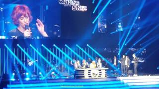 getlinkyoutube.com-03. Alizée et Grégoire Lyonnet dansent une Rumba sur Christine - Danse + notes DALS 2016 22/01 Paris