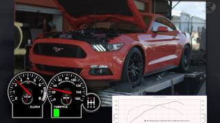 2015 Mustang GT Stock Intake vs. Boss Intake Dyno Test
