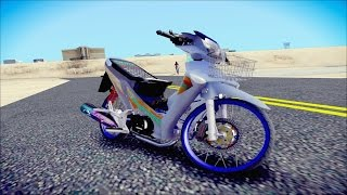getlinkyoutube.com-Gta Sa WAVE 125 i Nonny THAILAND