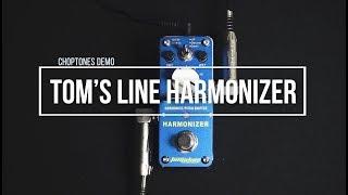 Tom's Line Pedals   AHAR-3 Harmonizer   Playthrough (Harmonist Pitch Shifter)