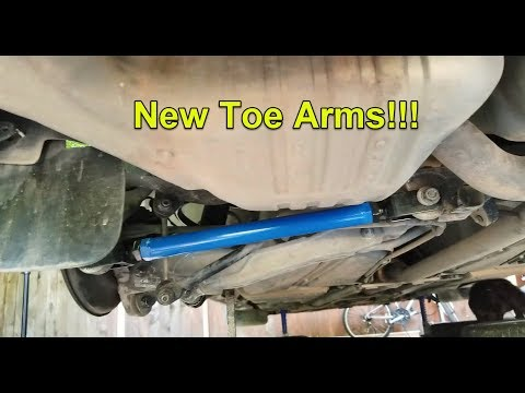 Volvo S60 Gets IPD Rear Toe Arms!!! And Height Adjustment