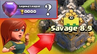 getlinkyoutube.com-Clash Of Clans - WORLDS FIRST TOWN HALL 8 LEGEND LEAGUE PLAYER! - NEW WORLD RECORD IN CoC!