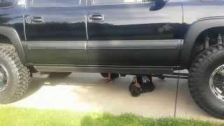 getlinkyoutube.com-ONE of a KIND 2000 Chevy Suburban OFF-Road Bug-Out DupliColor Bed Liner Fenders and Sides