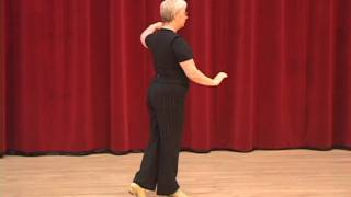 getlinkyoutube.com-Silver Cha Cha - Fan Developement Ballroom Dance Lesson