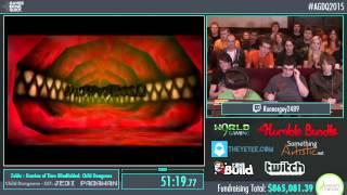 getlinkyoutube.com-Awesome Games Done Quick 2015 - Part 169 - Zelda: Ocarina of Time (Blindfolded) by Runnerguy2489