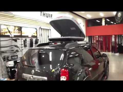 Duster Renault equipada na nossa loja Auto330 acessorios