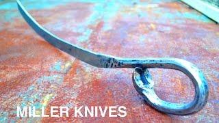 getlinkyoutube.com-Forging a Sword from a Crowbar