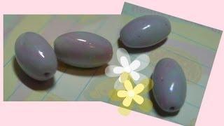 getlinkyoutube.com-DIY Polymer clay:fake opal beads/ tutorial finta pietra(opale)