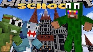 getlinkyoutube.com-Minecraft SCHOOL - LITTLE LIZARD ATTACKS HIS FRIENDS?!?