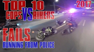 getlinkyoutube.com-TOP 10 Cops VS Motorcycle FAILS Running From POLICE CHASE Bikes Cop WIN Bike FAIL COMPILATION 2016