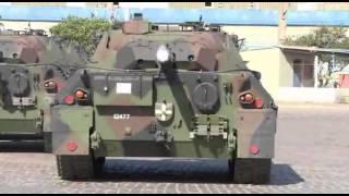 getlinkyoutube.com-Exército Brasil | Chegada dos Leopard 1A5 - Arrival of Leopard 1A5