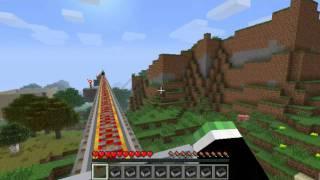 getlinkyoutube.com-Minecraft Montaña Rusa interminable! [Con Michael y Esteban]