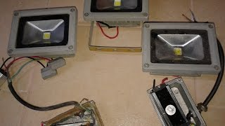 getlinkyoutube.com-Лед прожектора ремонт, выгода при ремонте - обновленный ролик