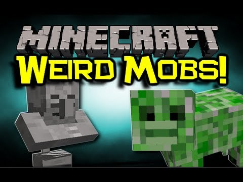 Minecraft - WEIRD HYBRIDS Mod Spotlight - Awesome New Mobs Are Awesome! (Minecraft Mod Showcase)