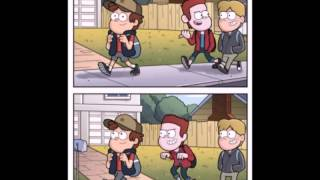 getlinkyoutube.com-Диппер и Мейбл комиксы #2