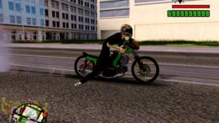 getlinkyoutube.com-GTA SA MOD DRAG BIKE perform Yamaha sigma 2t vs Yamaha jupiter z 4t sport bebek TU 200cc