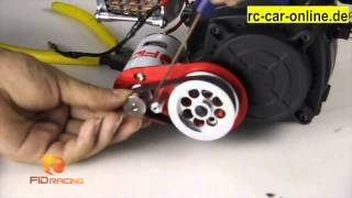 getlinkyoutube.com-FID046 Electric starter unit for Losi 5ive-T and HPI baja cars English