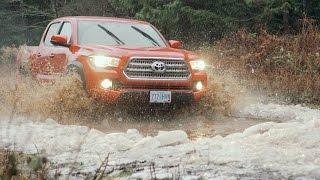 getlinkyoutube.com-2016 Toyota Tacoma TRD Off-Road Battles a Blizzard