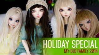 getlinkyoutube.com-My BJD Family 2014 - Holiday Special