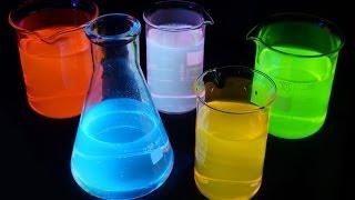 getlinkyoutube.com-Люминофоры и флуоресценция - что это такое? (Светящиеся жидкости)