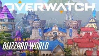 Overwatch - New Hybrid Map: Blizzard World