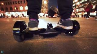 getlinkyoutube.com-NEW Hoverboard In Action with Bluetooth & LED Headlights - Ride Genesis