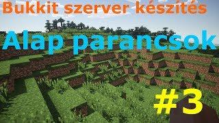 getlinkyoutube.com-Minecraft (tört) BUKKIT szerver készítése 3.rész [ alap (admin) parancsok ]