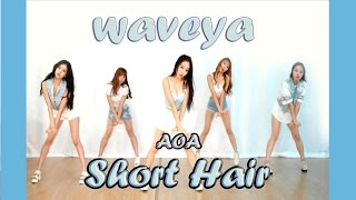 getlinkyoutube.com-Waveya AOA Short Hair 단발머리 kpop cover dance