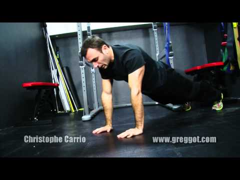 Gainage : faire la planche | Christophe Carrio | Greggot.com