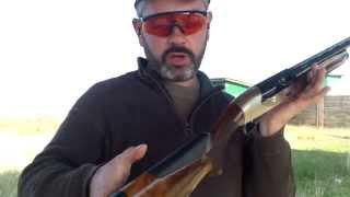 getlinkyoutube.com-Benelli Raffaello powerbore  δοκιμες στο σκοπευτηριο   by clear gun mastorakos
