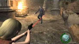 getlinkyoutube.com-resident evil 4 PC -  ASHLEY vs LEON