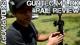 getlinkyoutube.com-GunTec M-LOK Handguard Rail Review