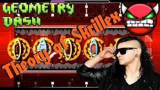 "getlinkyoutube.com-""Geometry Dash"" - Theory of Skrillex (H4RD Demon)"