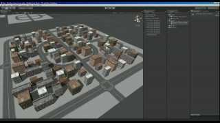 getlinkyoutube.com-Unity Game Engine - Modular City Kit Free