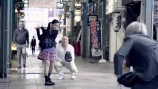 getlinkyoutube.com-길거리에서 야구를 하는 컨셉의 일본 광고영상.