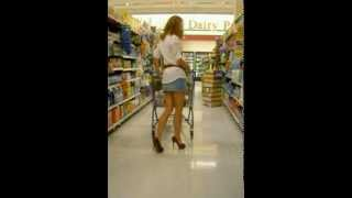 """getlinkyoutube.com-Life In Heels 24/7: Can you wear 6"""" heels & miniskirt grocery shopping without getting funny looks?"""